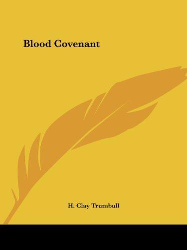 9780766139831: Blood Covenant