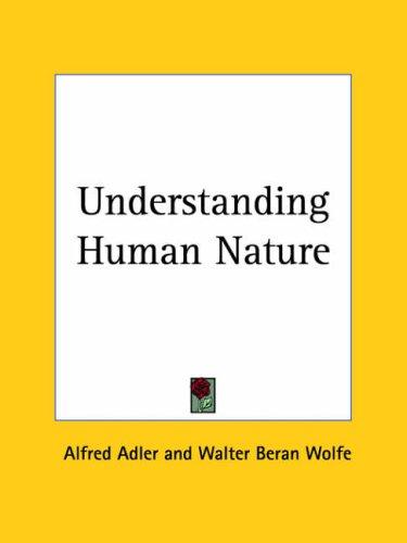 9780766142633: Understanding Human Nature (1927)