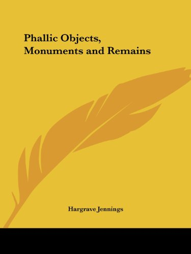 9780766144385: Phallic Objects, Monuments and Remains (1889)