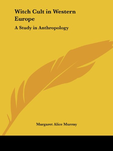 9780766144552: Witch Cult in Western Europe: A Study in Anthropology