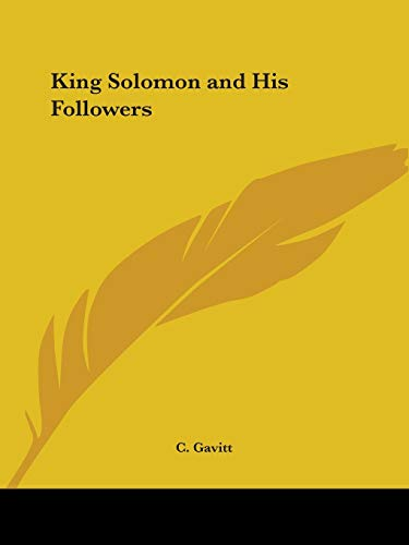 King Solomon and His Followers