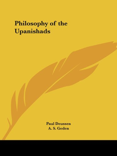 9780766154704: Philosophy of the Upanishads