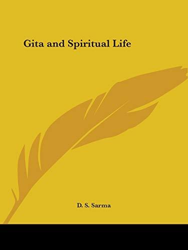 9780766156715: Gita and Spiritual Life