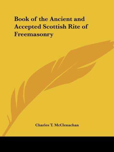 9780766157033: Book of the Ancient and Accepted Scottish Rite of Freemasonry