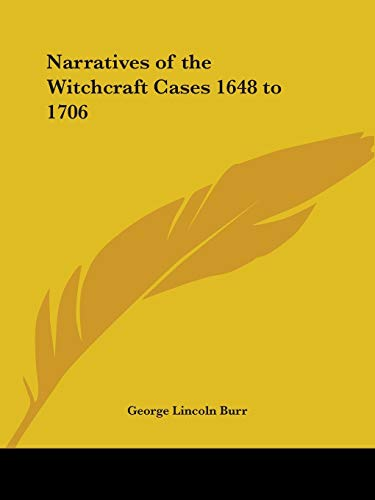 9780766157736: Narratives of the Witchcraft Cases 1648 to 1706