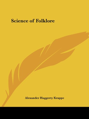 9780766158139: Science of Folklore