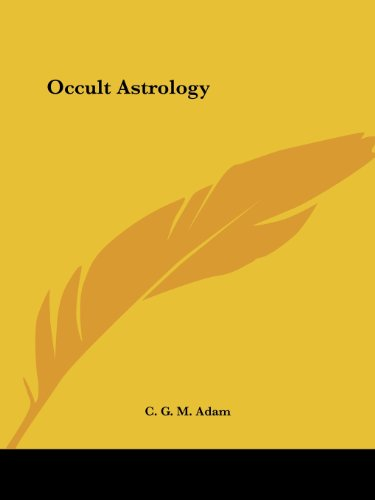 9780766159235: Occult Astrology