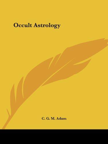 9780766159235: Occult Astrology