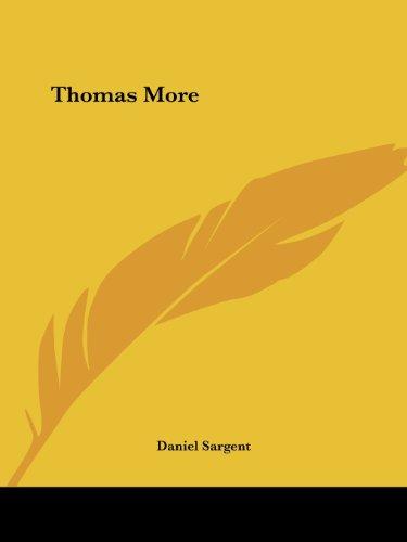 9780766163263: Thomas More