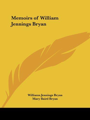 9780766170025: Memoirs of William Jennings Bryan