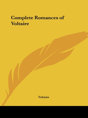 9780766170308: Complete Romances of Voltaire