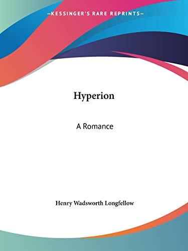 9780766171091: Hyperion: A Romance