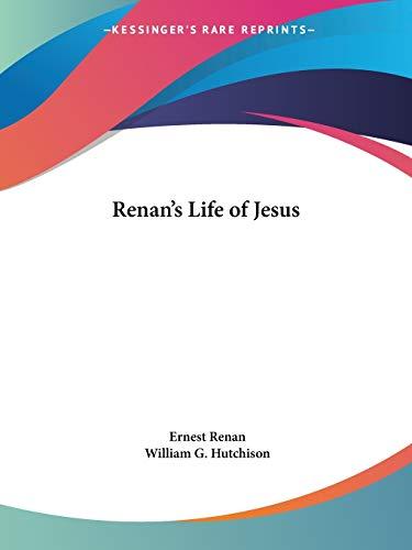 9780766175334: Renan's Life of Jesus
