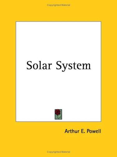 9780766178632: Solar System