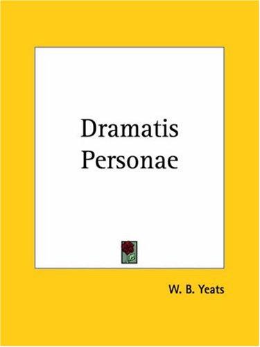 9780766179714: Dramatis Personae
