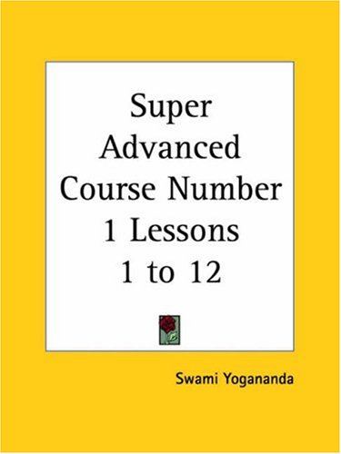 9780766180161: Super Advanced Course Number 1 Lessons 1 to 12