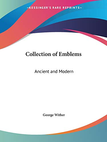 9780766181120: Collection of Emblems: Ancient and Modern, 1635