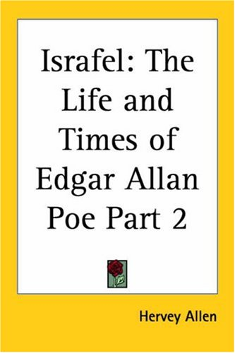 9780766184688: Israfel: The Life and Times of Edgar Allan Poe 1926