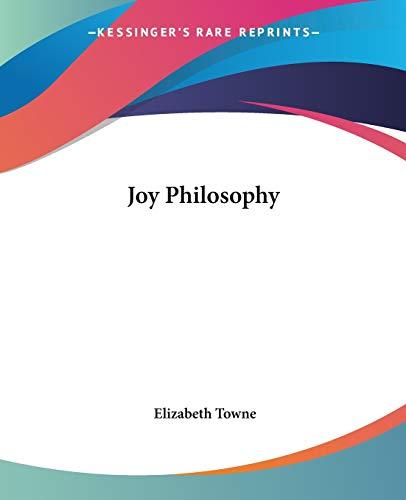 9780766185418: Joy Philosophy