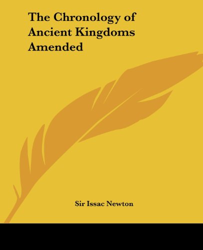 9780766186835: The Chronology of Ancient Kingdoms Amended