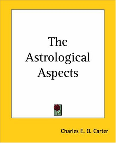9780766187351: The Astrological Aspects