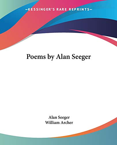 9780766190160: Poems by Alan Seeger