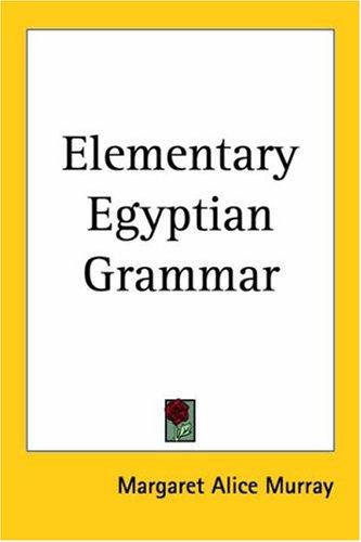 9780766190924: Elementary Egyptian Grammar