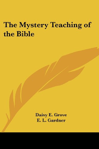 9780766190931: The Mystery Teaching of the Bible