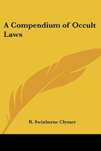 9780766191587: A Compendium of Occult Laws
