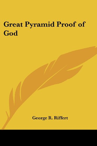 9780766192232: Great Pyramid Proof of God