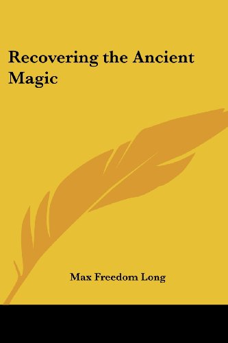 9780766192447: Recovering the Ancient Magic
