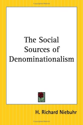 9780766193420: The Social Sources Of Denominationalism