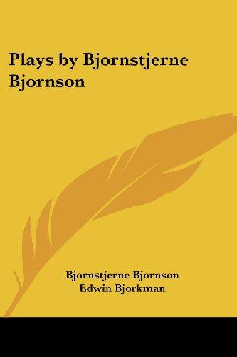 9780766195028: Plays by Bjornstjerne Bjornson