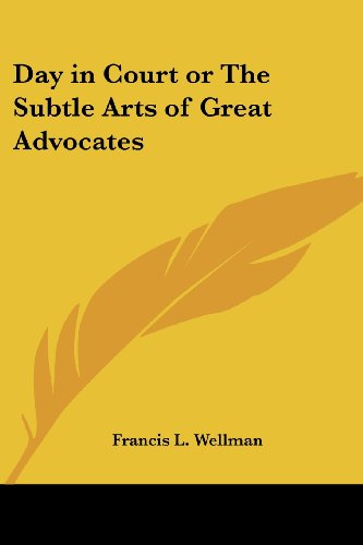 9780766195226: Day in Court or The Subtle Arts of Great Advocates