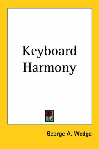 9780766195288: Keyboard Harmony