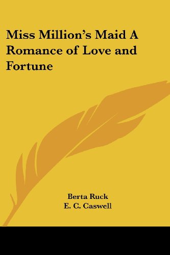 9780766198692: Miss Million's Maid A Romance of Love and Fortune