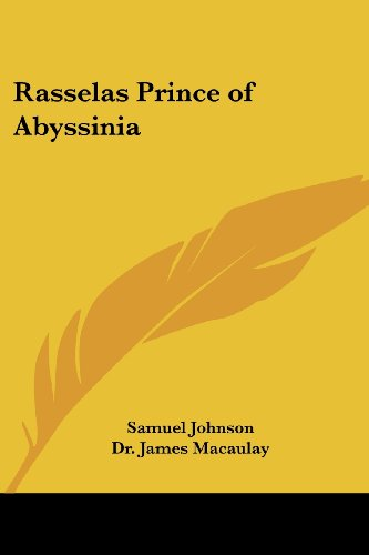 9780766198777: Rasselas Prince of Abyssinia