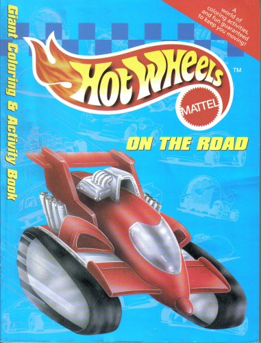 9780766601048: On the Road Giant Coloring & Activity Book (Mattel Hot Wheels)