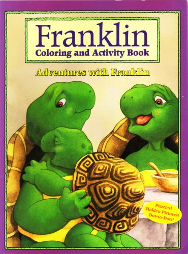 Franklin Coloring and Activity Book - Adventures with Franklin