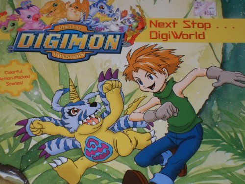 9780766605534: Digimon: Next Stop... Digiworld
