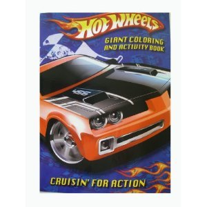9780766606760: Hot Wheels Giant Color & Activity - Cruisin for Action (Hot Wheels Giant Coloring & Activity Books)