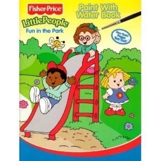 Fisher Price Little People Paint with Water - Fun in the Park (Fisher-Price Little People Paint ...