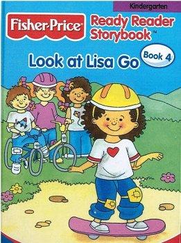 9780766611887: Look at Lisa Go (Fisher Price Ready Reader Storybook, Kindergarten, Book 4)