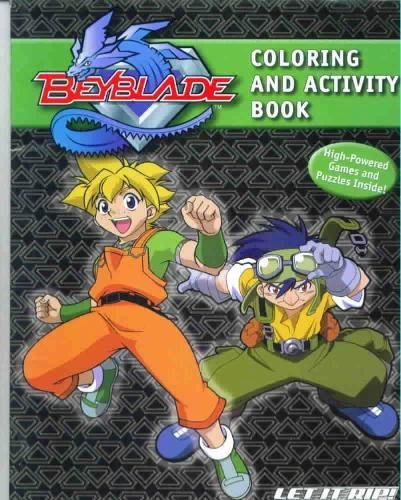 9780766612532: Beyblade Ultimate Battles Coloring and Activity Book (Beyblade)