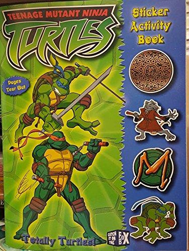 9780766612990: Totally Turtles! (Teenage Mutant Ninja Turtles Sticker Activity Books)