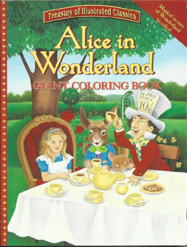9780766613263: Alice in Wonderland Giant Coloring Book - AbeBooks ...