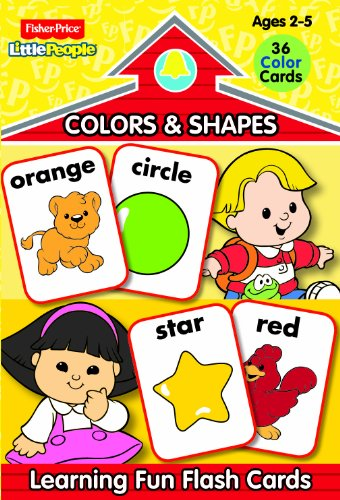 9780766613850: Fisher Price Little People Preschool Flash Cards-Colors and Shapes