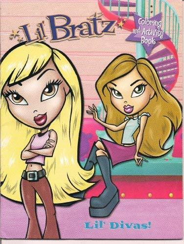9780766614611: Lil' Bratz - Coloring and Activity Book - Lil' Divas (Paperback)