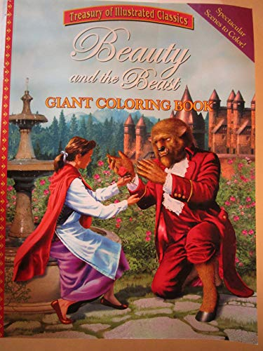 9780766615915: Beauty and the Beast Giant Coloring Book (Treasury of Illustrated Classics)