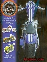 9780766616080: Biker Bonanaz Sticker Activity Book Orange County Choppers (Motorcycles)